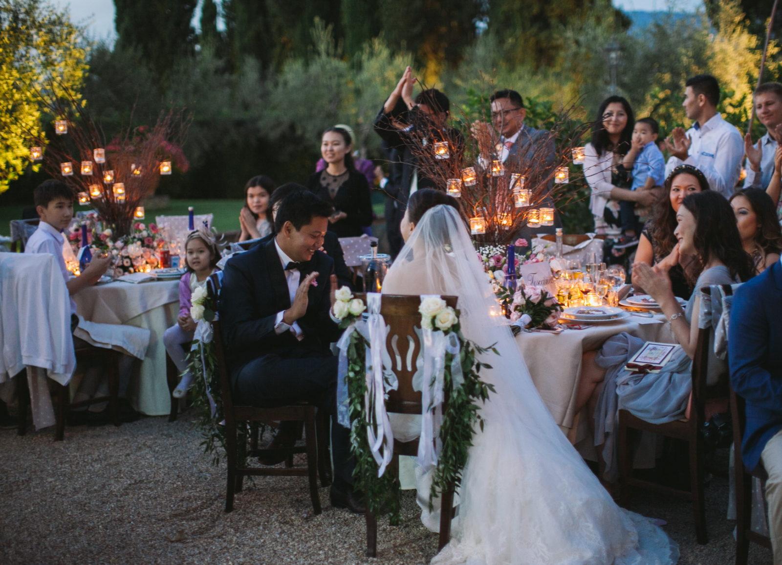 камерная свадьба на природе